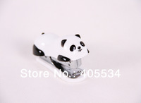 Cute Mini Panda Stapler, Book Stapler, Stapling Machine White Color 0244