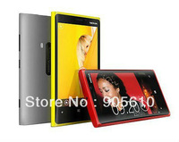 Free ship HK post / SG Post NEW 4.0 inch Touch Screen Quad Band Dual SIM cell phone N9 920 TV WIFI 5 Colors Mobile Phone
