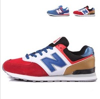 2013 new male and female sports shoes  couple shoes running shoes size 35-44 free shipping cheapest