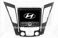 "8"" 2-Din Car DVD Player GPS Navigation for Hyundai Sonata I40 I45 I50 YF 2011-2012 with Radio Bluetooth TV CAN Bus Auto Stereo"