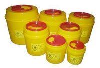 Medical tool box sharps box bucket circle tool box , edvi 2l 4l 6l  container
