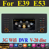 Car DVD Player GPS Navi for BMW 5 Series X5 E39 E53 / 7 series E38 + 3G WIFI + V-20 Disc + 1GB cpu + DDR 512M RAM  + A8 Chipset