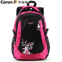 Flower child school bag in primary school students school bag male girls backpack ultra-light waterproof