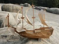 3d model  puzzle wooden handmade diy  Goetheborg ship toy
