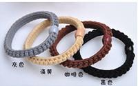 Contracted send han edition rope rope tied hair elastic hair bands headdress flower wholesale headwear