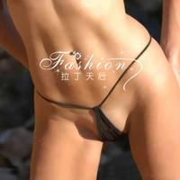 European  women sexy t-back  cotton fashion t thong panties female