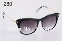 New 2013 Vintage Eyeglasses Best Fashion designer Brand sunglasses Mu16NS womens eyewear cat top popular free shipping