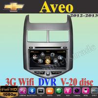 Car DVD Player GPS Navi for Chevrolet Aveo Sonic  2012 2013 + 3G WIFI + V-20 Disc + 1GB cpu + DDR 512M RAM + DVR + A8 Chipset