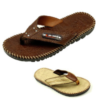 Free shipping  Summer male leather male casual flip flops beach slippers slip-resistant male flip flops