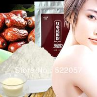 wholesale natural Yunnan jujube jujube puerar powder meal replacement powder 500g freeshipping+secret gift