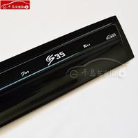 Free Shipping 12 - 13 cs35 rain or shine gear belt light bar rain gear rain eyebrow window modified car accessories