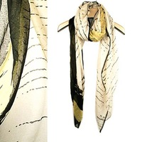 Scarf,Beautiful Print Design,2 Colors,Quality,Wholesale,Free shipping,S-18