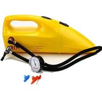 Car super multifunctional vacuum cleaner inflatable pump tire pressure one piece machine car vacuum cleaner airgauge