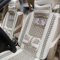 Polo summer viscose qq cartoon car seat cushion car seat xiadian