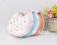Mixed sales cotton *carter's baby bibs waterproof infant bibs  (send by boys' or girls') Free shipping alit36