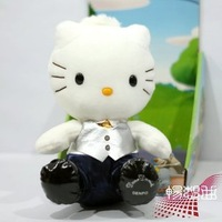 Hello kitty doll super soft plush toy christmas gift birthdays gift high quality stuffed doll free shipping
