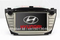 "7"" In Dash 2-Din Car DVD Player GPS Navigation for Hyundai Tucson IX / IX35 2009-2012 with Stereo Radio Bluetooth TV RDS Video"