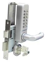 Free Shipping  KEY Mechanical Digital Door Lock