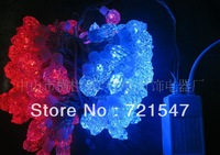 Wholesale and retail High quality waterproof lamp series ,red and blue imitation of South Africa Brick,230V,8W,10m/100pcs