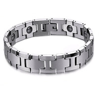 Male bracelet tungsten steel bracelet male magnet bracelet fashion male jewelry male accessories