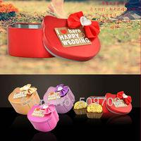 New Arrival HELLO KITTY Wedding Tin Case,  Candy Tin Box, Storage Gift Metal box, Jewelry Iron Case Free Shipping