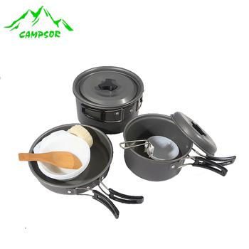 2 - 3 cookware portable picnic pot camping pot buzhanguo camping supplies outdoor tableware cookware