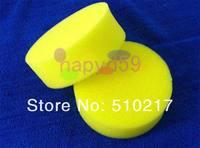 10pcs free ship Car cleaning washing sponge auto waxing sponge car polishing pads wash wax tools car accessories