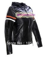 special motorcycle mortorbiker woMen's Leather Jacket 98142,orange,motorcycles jacket S-XL