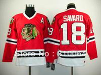blackhawks 18 Denis Savard jersey chicago blackhawks free shiping