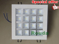 %off taiwan led 100lm/w 100% guarantee quality downlight led 16w