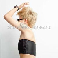 Hot sale Black/White Color,Strapless Flat Chest Breast Binder Transgender Lesbian Tomboy cosplay Tomboy Binder