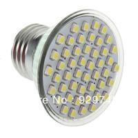 48 pcs 3528 SMD  3W LED Cup Spot light Bulb,150 lumen E27 GU10 110V 220V Cool White/Warm White Lighting Bulb ,Free Shipping