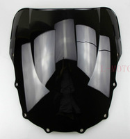 FREE SHIPPING Black Windshield Windscreen For Kawasaki ZZR400 1993 1994 1995 1996 1997 1998