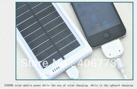 Solar charger Solar Power Outdoor emergency battery 3000mAh