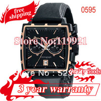 new Rubber Strap Black Dial Watch Quartz mens Wrist Watches ar0595+ original box