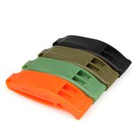 SURVIV EOutdoor survival whistle Lifesaving Dual whistle Spot goods emergency whistle rescue green