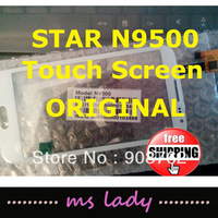 Original STAR N9500 MTK6589 New Touch Screen Digitizer/Replacement glass ANDROID Free Ship Airmail  + tracking code