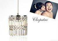 Free shipping/ Pendant Light/K9 Clear Crystal/Hardware/Wire/modern/hanging/lighting/ Cylinder design/ Export/ Australia/LED