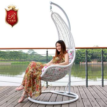 Furniture hanging basket hanging chair rattan hanging basket swing outdoor rocking chair indoor hanging chair cushion