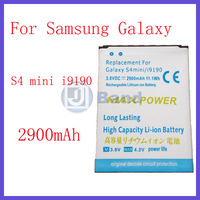 2 Pieces/Lots 2900mAh Replacement Battery For Samsung Galaxy S4  SIV mini i9190 i9192 Free Shipping