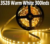 5M  3528 60 LED Non-Waterproof Strip Light DC12V 20W Red/Blue/Yellow/Green/Warm White/White LED Strip