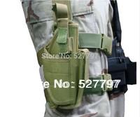 Tactical Drop Leg Pistol Holster Pouch Bag ( GREEN ) Free Shipping
