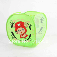 P3 Free shipping, One piece CHOPPER design Home Foldable Storage Basket 1PC