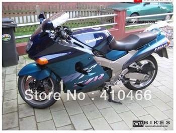 Fairing kit for Kawasaki ZZR 1100 1993 2003  ZZR 1100D 93 94 95 96 97 98 01 02 03 ZZR1100 Cyan Motorcycle fairings  body kit