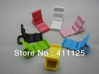 Universal Colorful Plastic Stand Holder For Cellphone iPhone Samsung 20pcs/lot Post Free Shipping