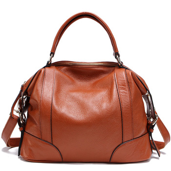 2014 Fashion first class of cowhide women's handbag, brand design genuine leather bag summer style dual function, popular tote