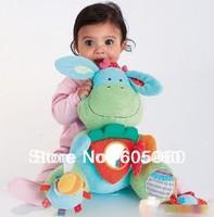 Baby Infant Toys Educational Toys Rabbit Developmental Soft Stuffed Plush 44cm*47cm, -Free Shipping