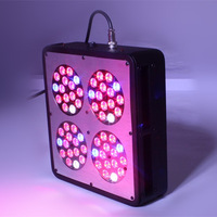 Fedex Free Shipping 180w High quality LED Plant Grow Lamp Apollo 4 used 3w chip leds+3 years warranty