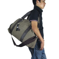 Free shipping 2013 men outdoor canvas shoulder messenger bag large capacity travel sports gym bag