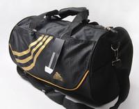 Free shipping men sports gym bag travel barrel shoulder messenger bag